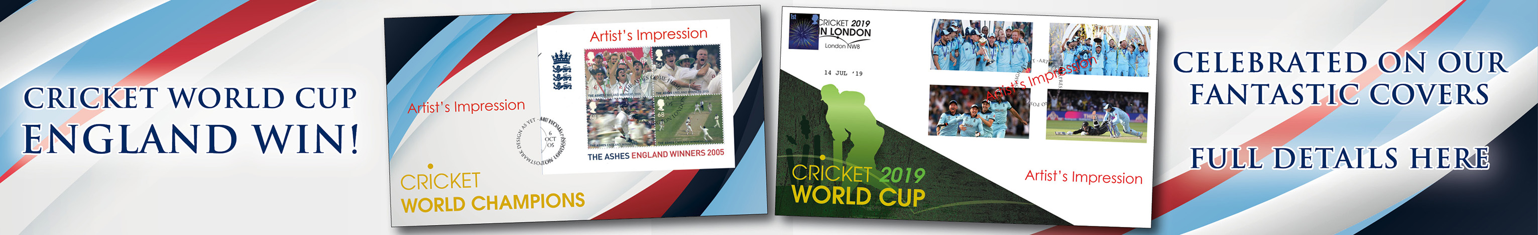 Cricket| First Day Covers