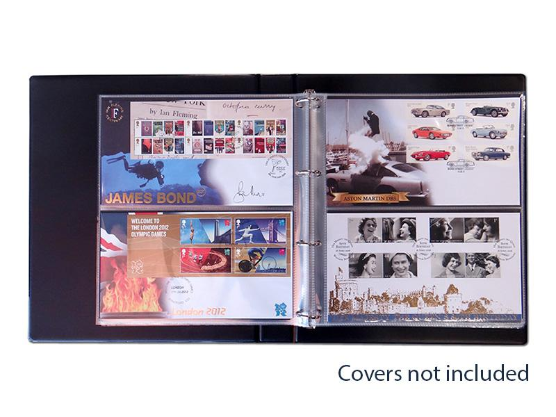 Standard Blue Cover Album First Day Covers