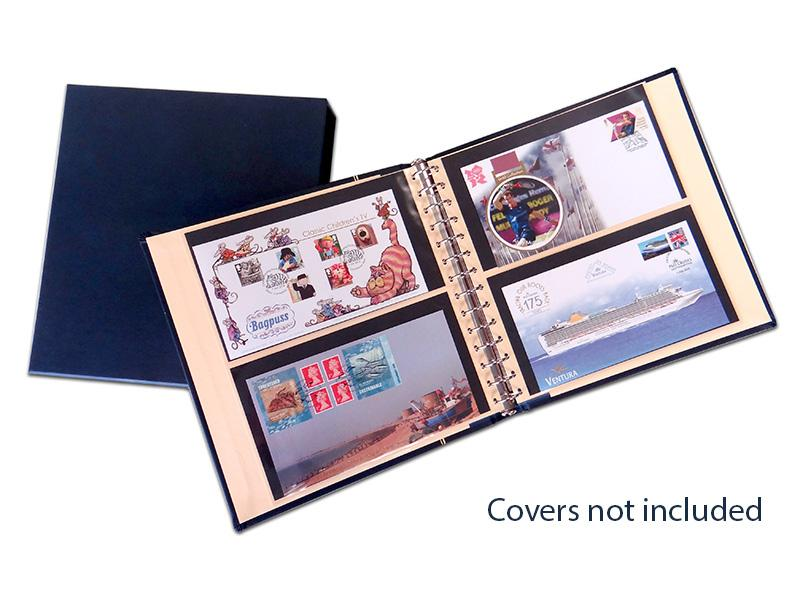 Luxury Blue SAFE Album for ultimate protection