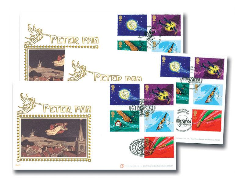 150th Anniversary of Great Ormond Street - Peter Pan Set of 3 Covers
