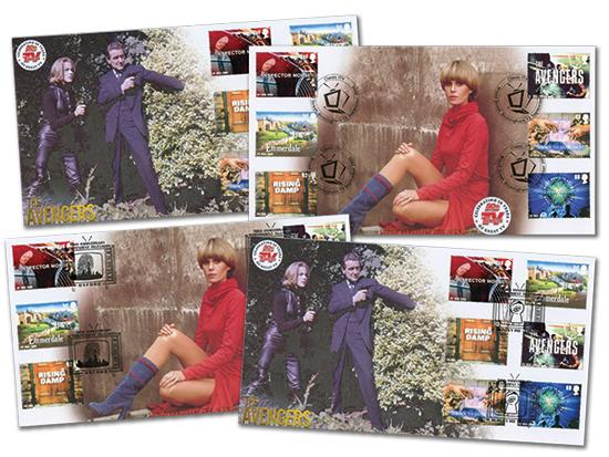 50th Anniversary of ITV - Set of 4 Covers