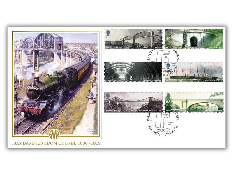 Bicentenary of Isambard Kingdom Brunel Stamps Cover
