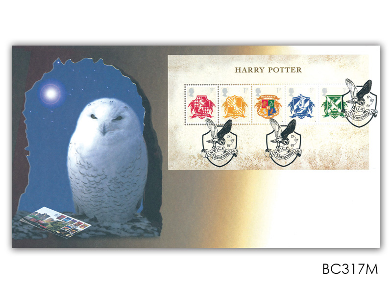 Harry Potter Miniature Sheet Cover