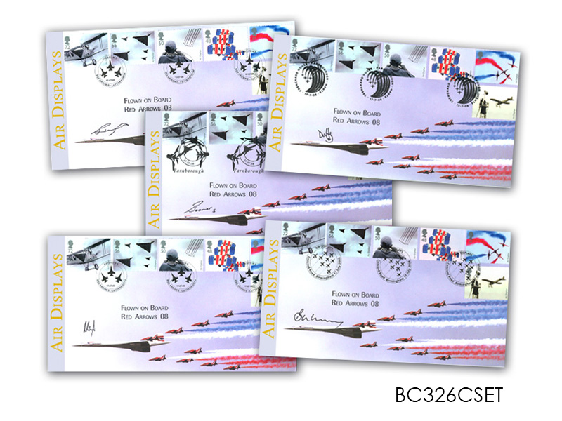 Air Displays - Red Arrows and Concorde Set of Covers
