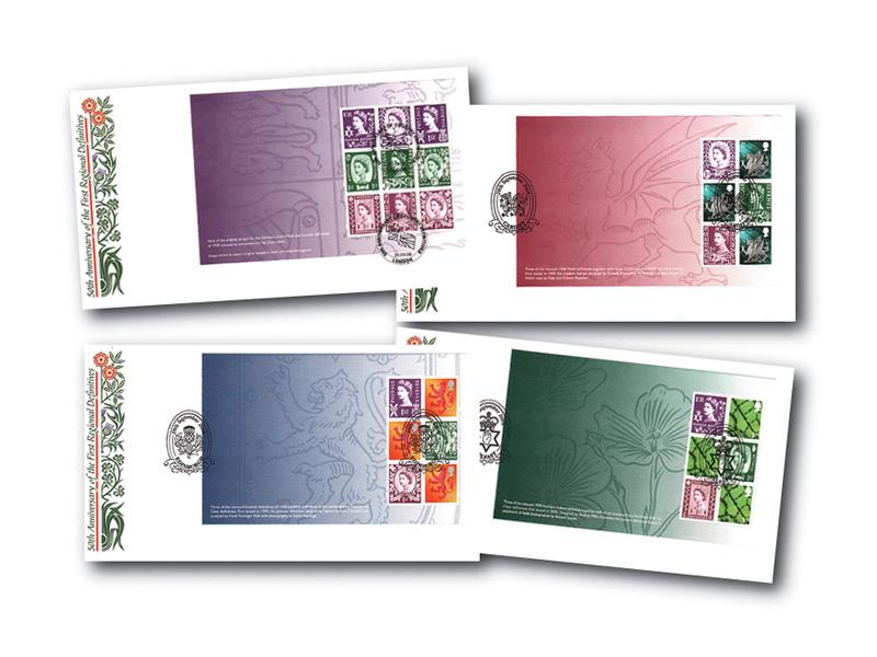 2008 50th Anniversary of the Country Definitives Prestige Booklet Set