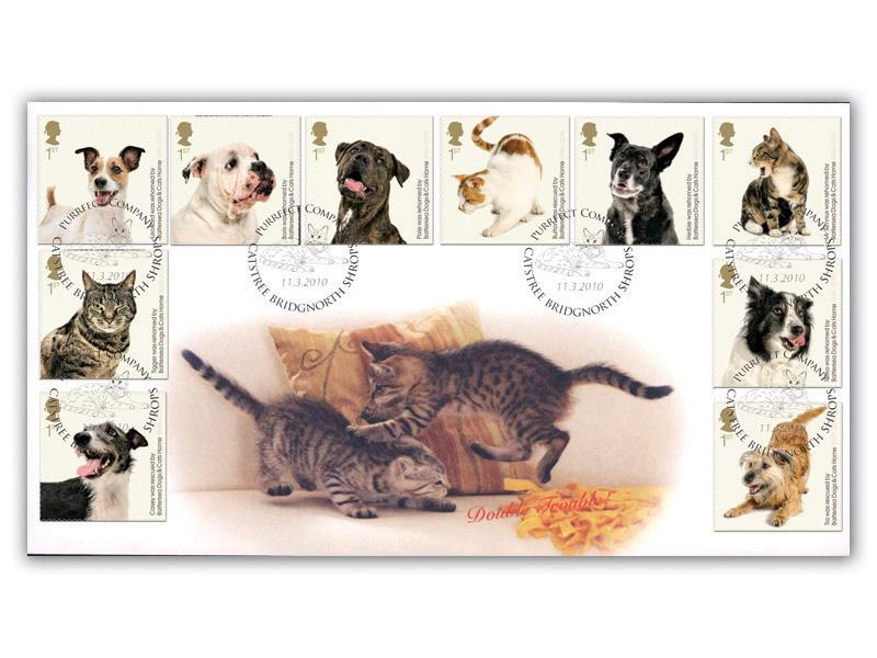 150th Anniversary of Battersea Dogs & Cats Home - Cats Full Set Cover