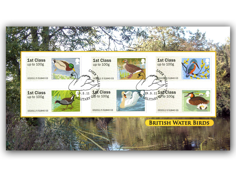 Post & Go - Water Birds Bureau Stamps