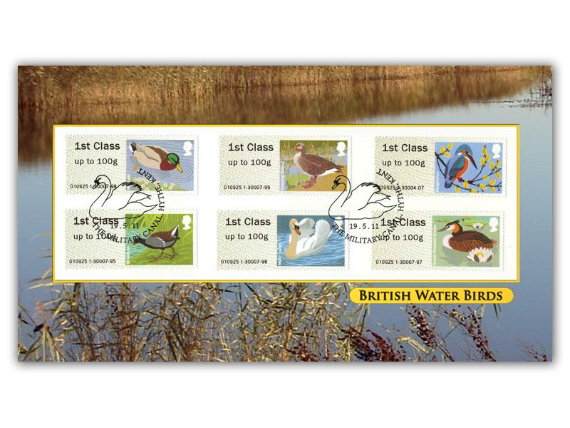 Post & Go - Water Birds Machine Stamps