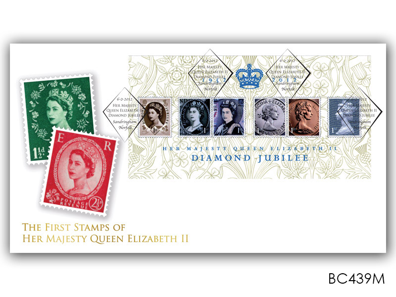 Queen Elizabeth II Diamond Jubilee Miniature Sheet