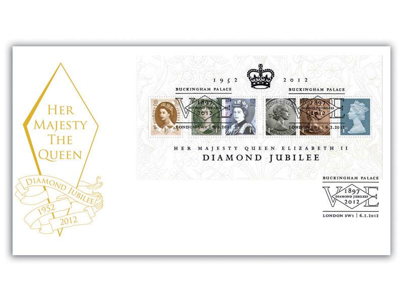 Diamond Jubilee Definitive Miniature Sheet