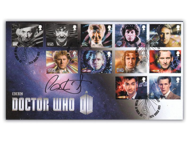 Classic TV - 50th Anniversary of Doctor Who Full Set Cover