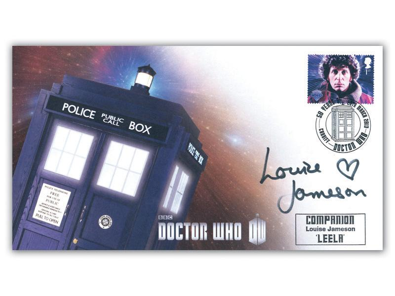 Classic TV - 50th Anniversary of Doctor Who Signed Louise Jameson