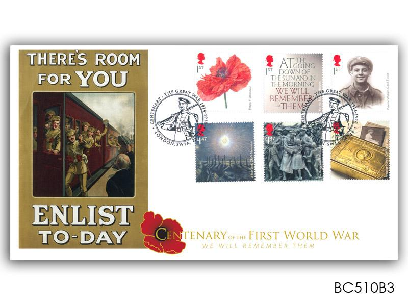 The Great War 1914 - 'There's Room for You - Enlist Today'