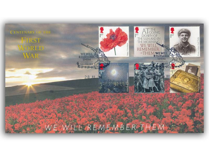The Great War 1914 - 'We Will Remember Them'