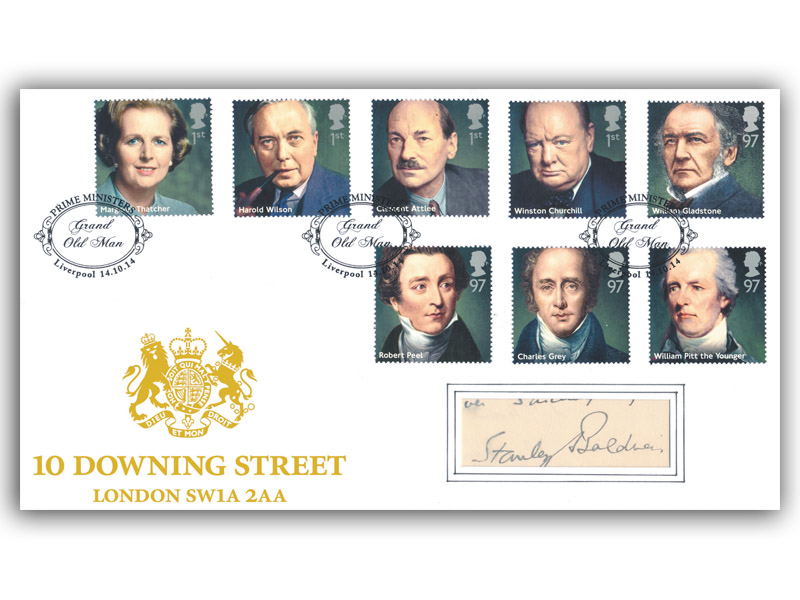 Prime Ministers signed Stanley Baldwin