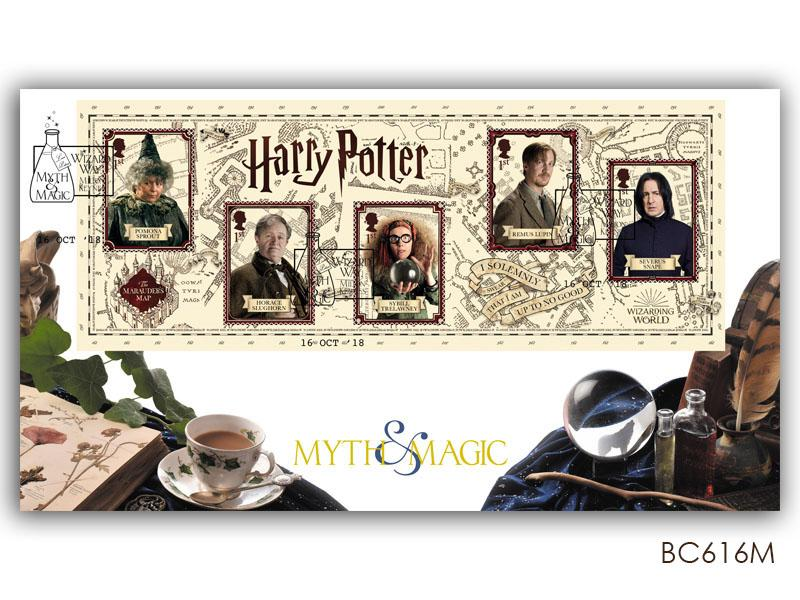 Harry Potter 'Magical Methods' Miniature Sheet Cover