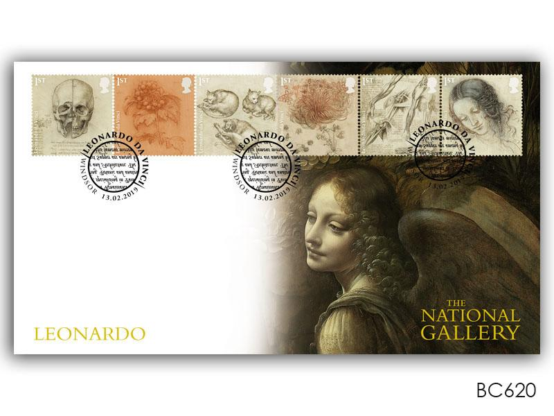 500th Anniversary of the Death of Leonardo da Vinci - Angel cover design