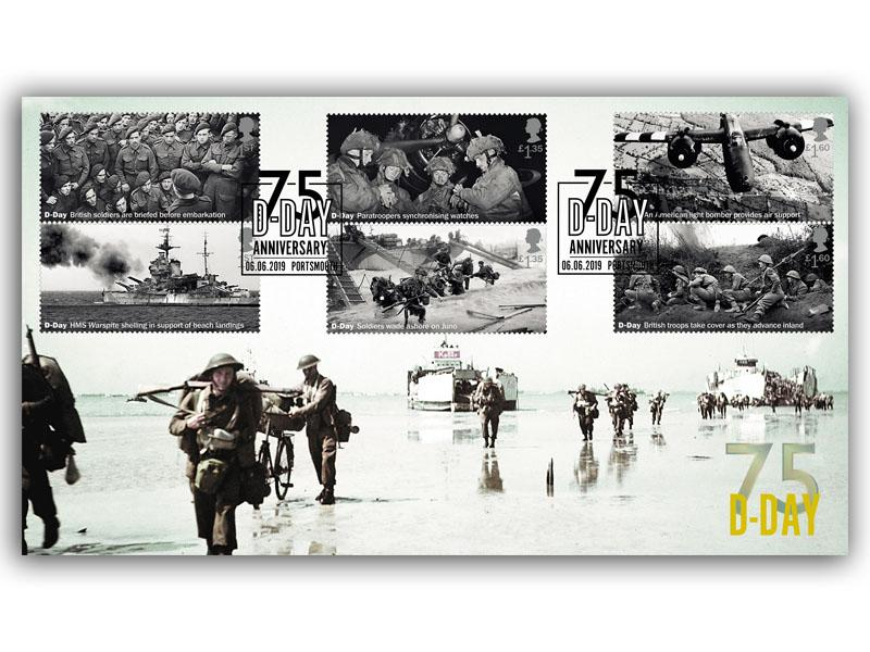 75th Anniversary of the D-Day Landings First Day Cover