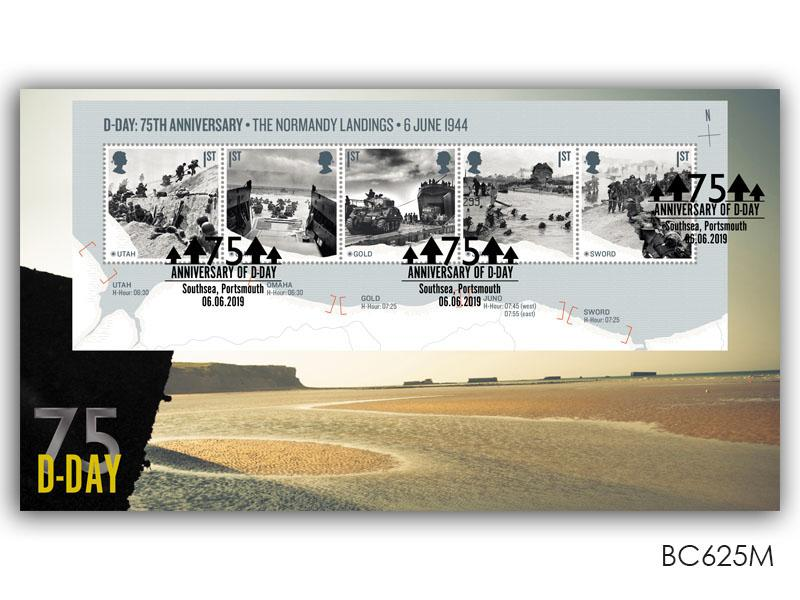 75th Anniversary of the D-Day Landings Miniature Sheet Cover