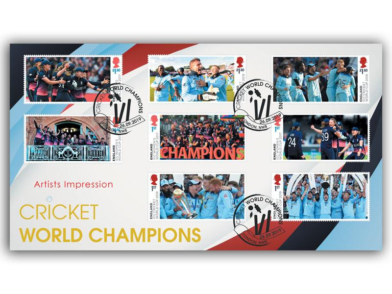 Men and Women's Cricket World Cup Championships Full Set Cover