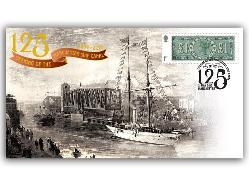 125th Anniversary of the Opening of the Manchester Ship Canal