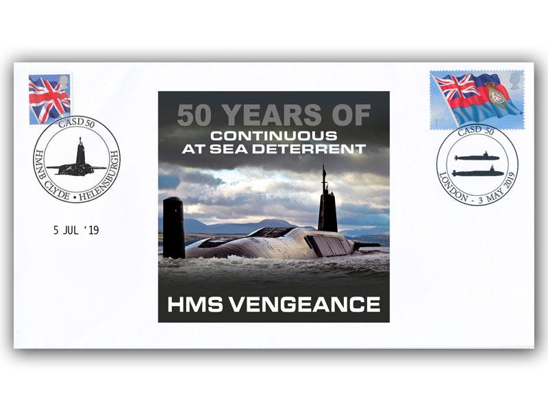 50th Anniversary of Continous At Sea Deterrent First Day Covers