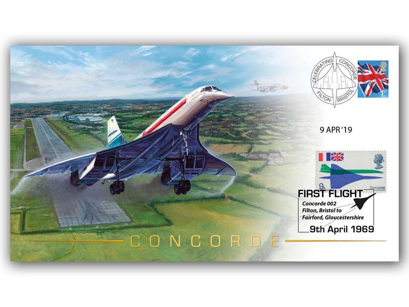 50th Anniversary of Concorde's First Flight
