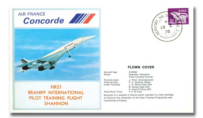 Air France Concorde flown cover
