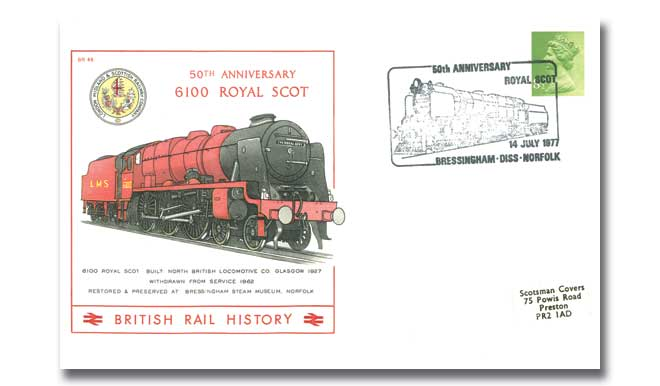 50th Anniversary Of The 6100 Royal Scot