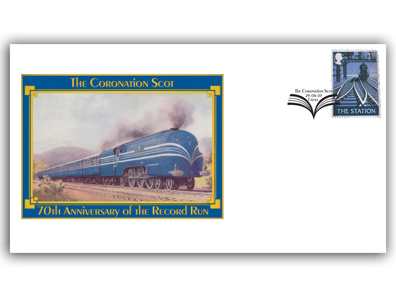 70th Anniversary of the LMS Coronation Scot