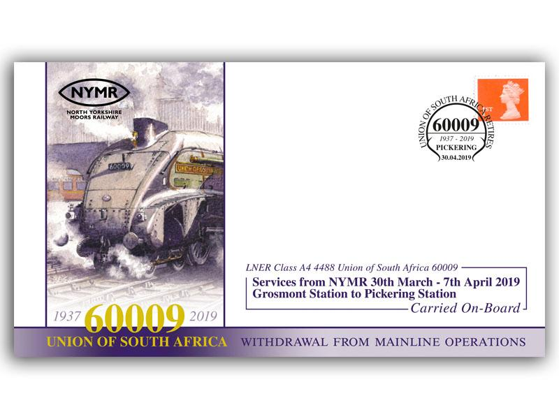 Union of South Africa 60009 Withdrawal from Mainline Operations