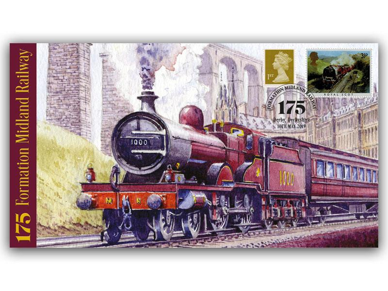 175th Anniversary of the Formation of Midland Railway