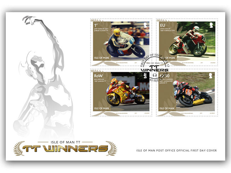 Isle of Man TT Winners First Day Cover