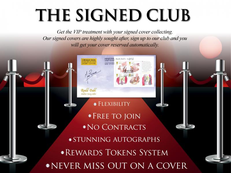 N - Join the Buckingham Signed Club First Day Covers