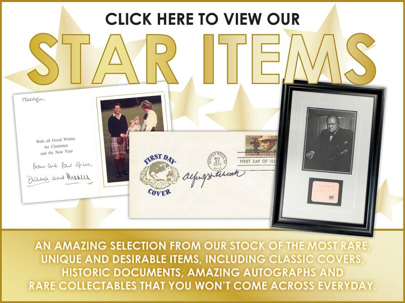O - Star Items First Day Covers