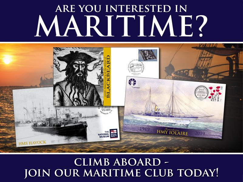 I - Maritime Club First Day Covers
