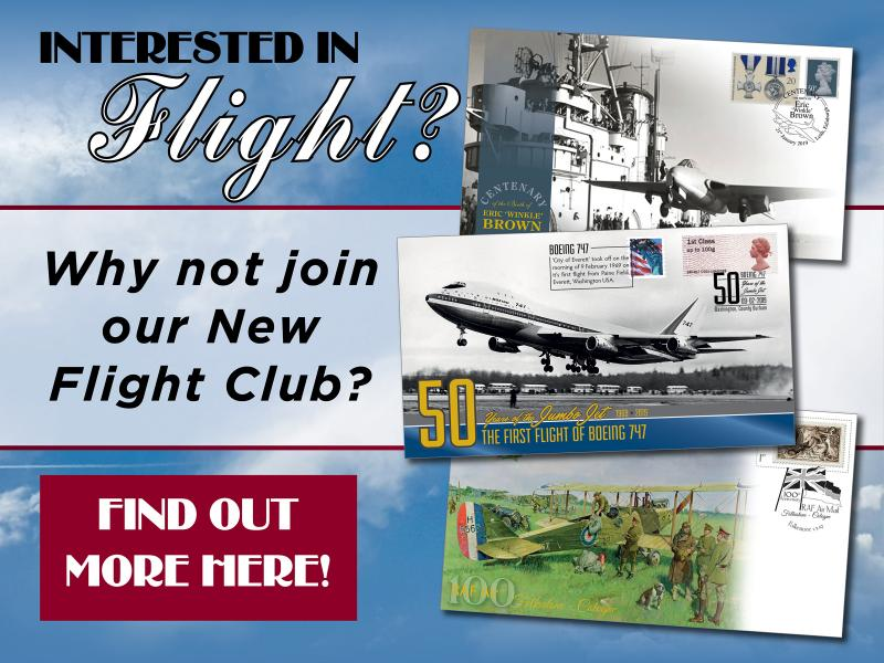 F - Flight Club First Day Covers