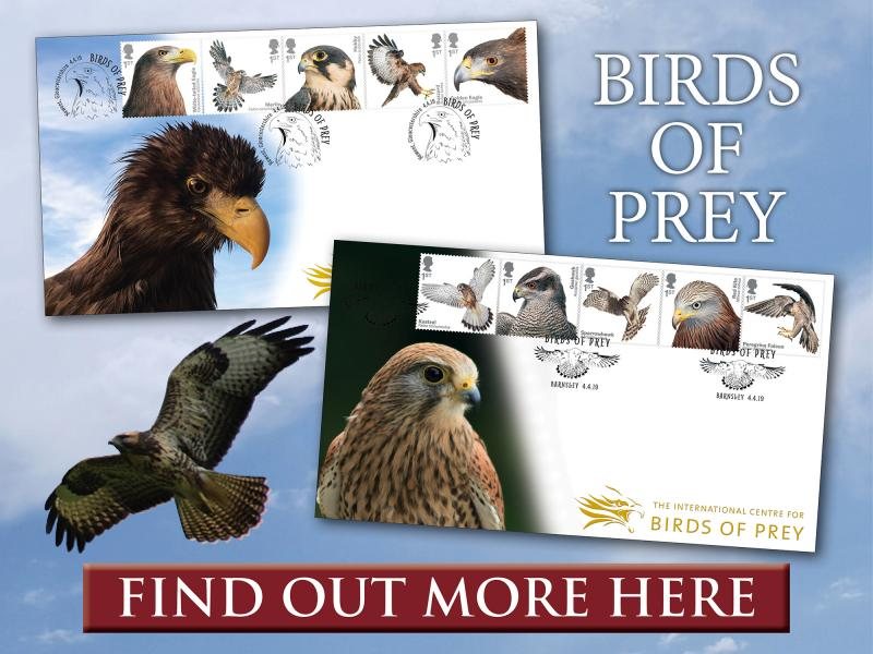 C - Birds of Prey First Day Covers