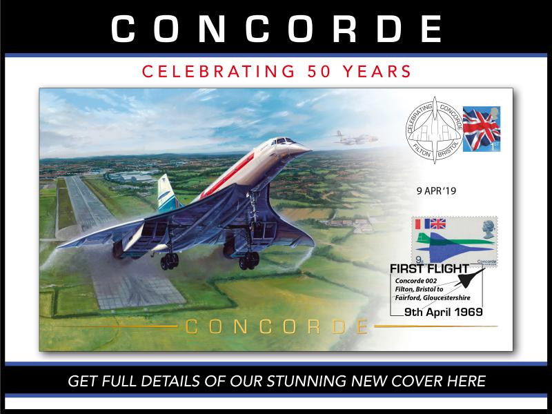 B - Concorde First Day Covers