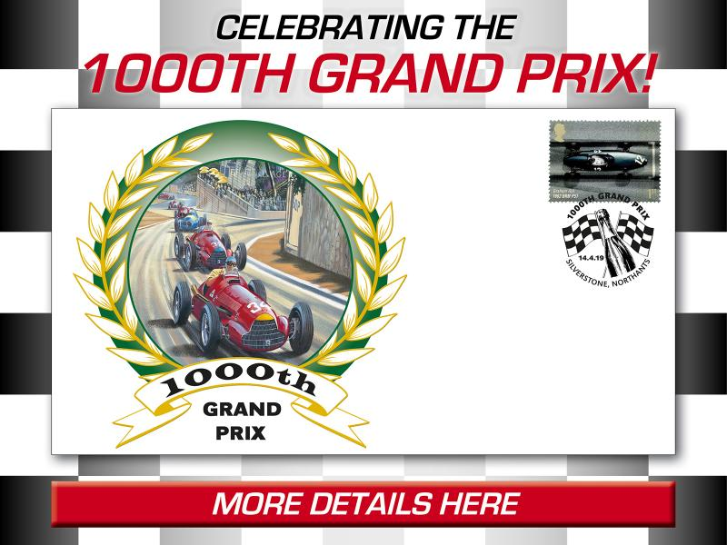 D - The 1000th Grand Prix First Day Covers