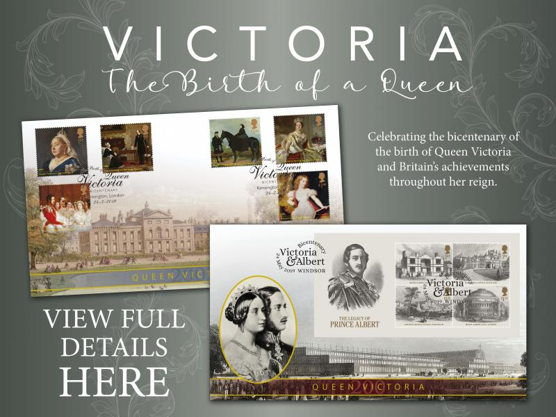 E - Queen Victoria First Day Covers