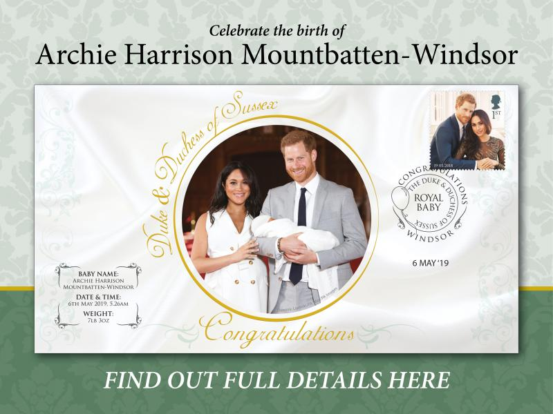 C - Royal Baby First Day Covers